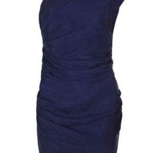 NWT - All Saints Darcy Darwin Dress - Colbalt - 8